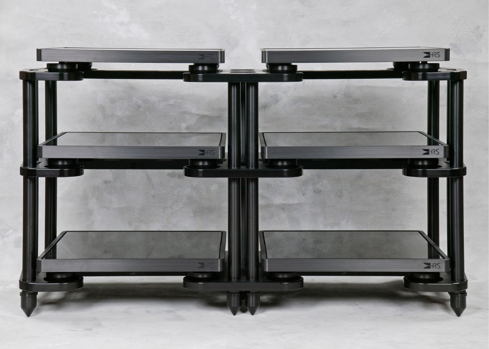 Black SXR-1921-3T3 with M3X2 Isolation Bases