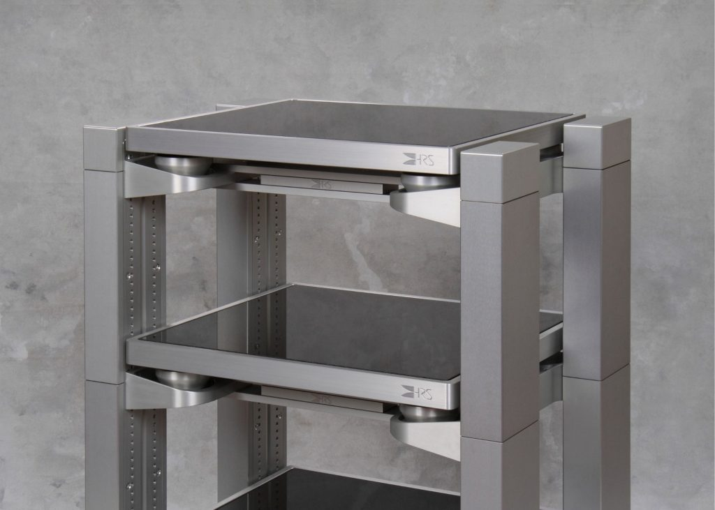 Silver VXR-1921-3V with Silver M3X2 Isolation Bases